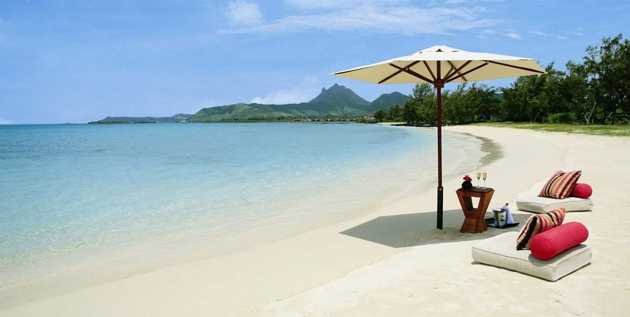 Море на острове Маврикий