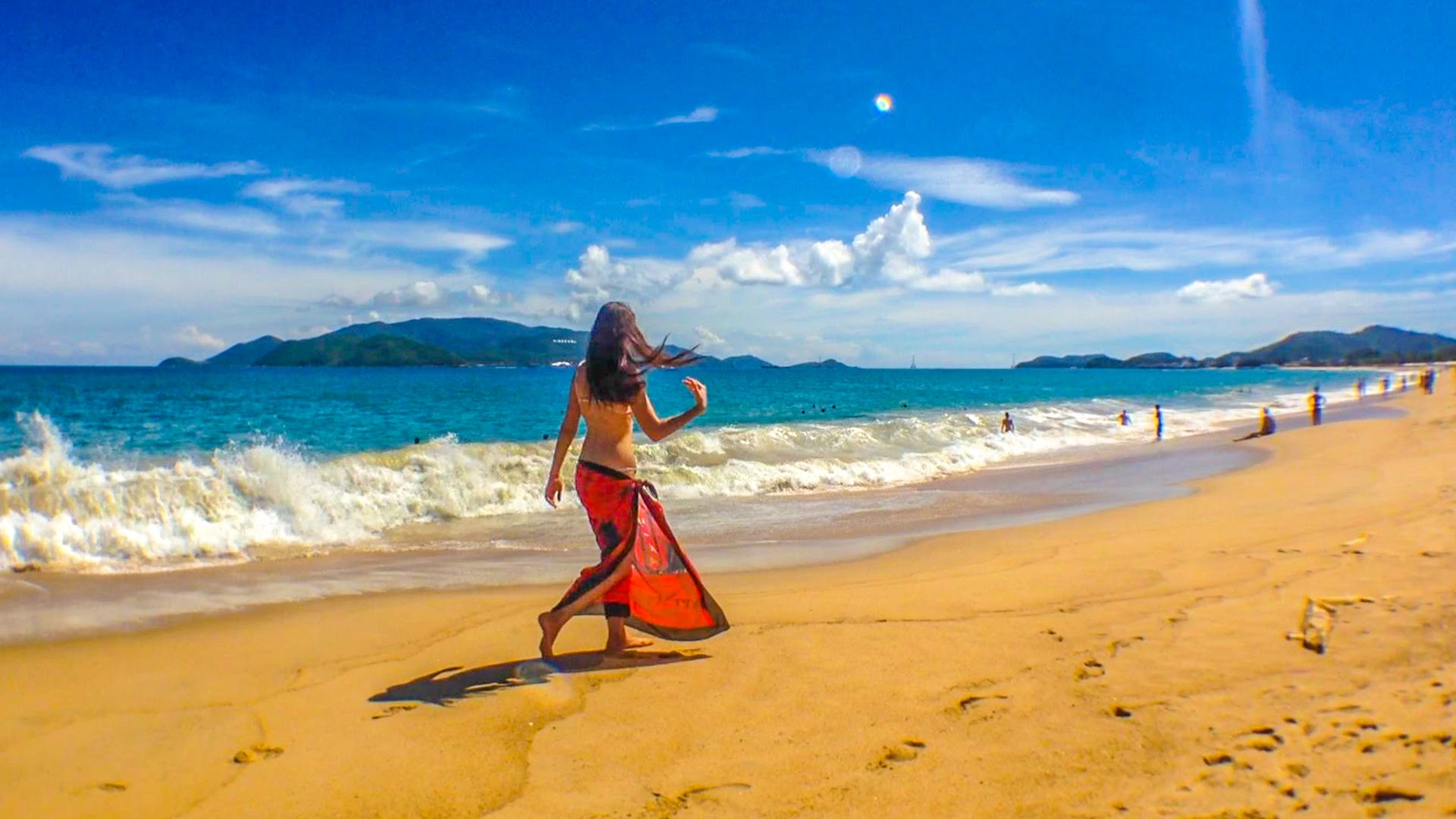 Нячанг пляж, море и набережная. Фото и отзывы по курорту Nha